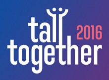 Tall Together logo blauw-paars